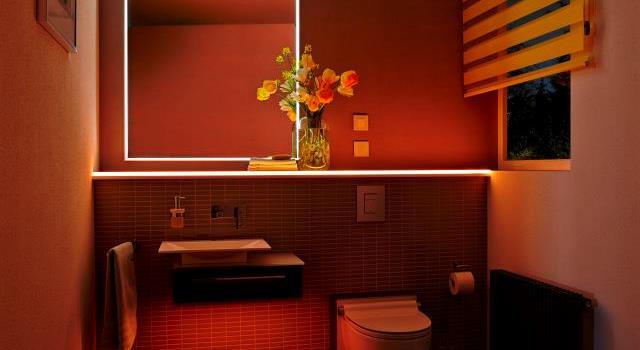 LED-rammen iscenesætter spejlet perfekt